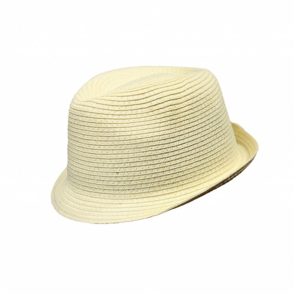 Pánský letní krémový klobouk