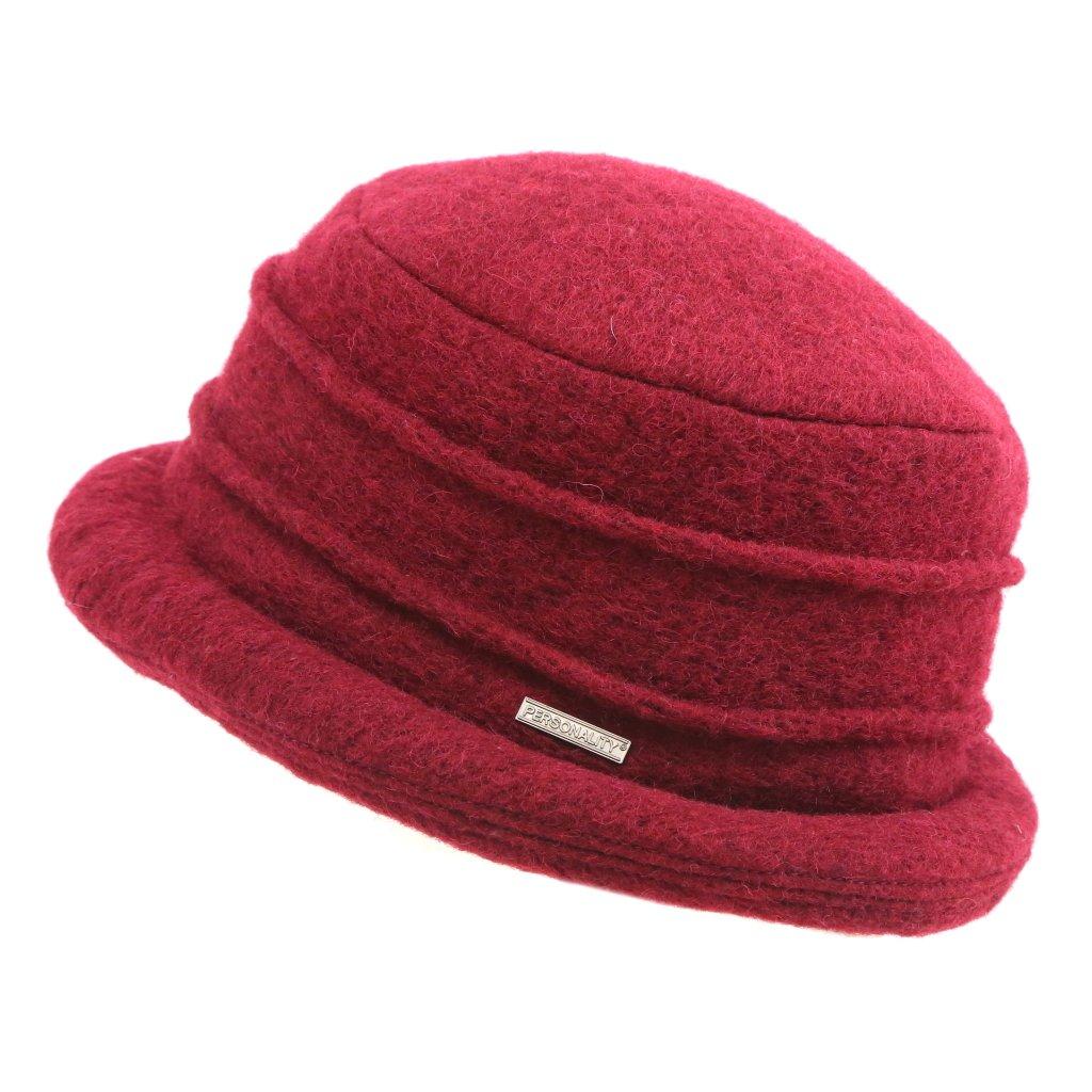 Dámský vlněný klobouček
