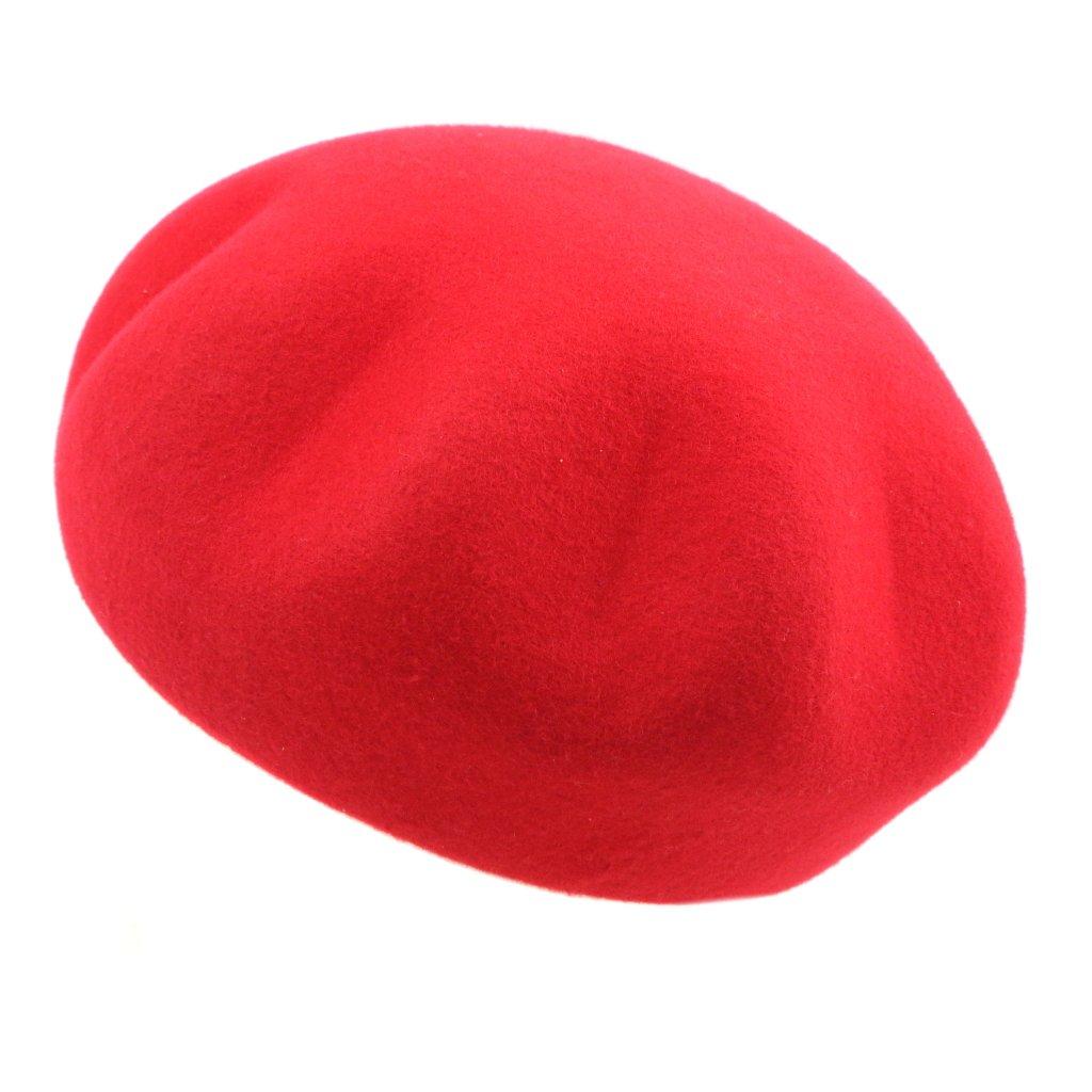 Dámský plstěný baret