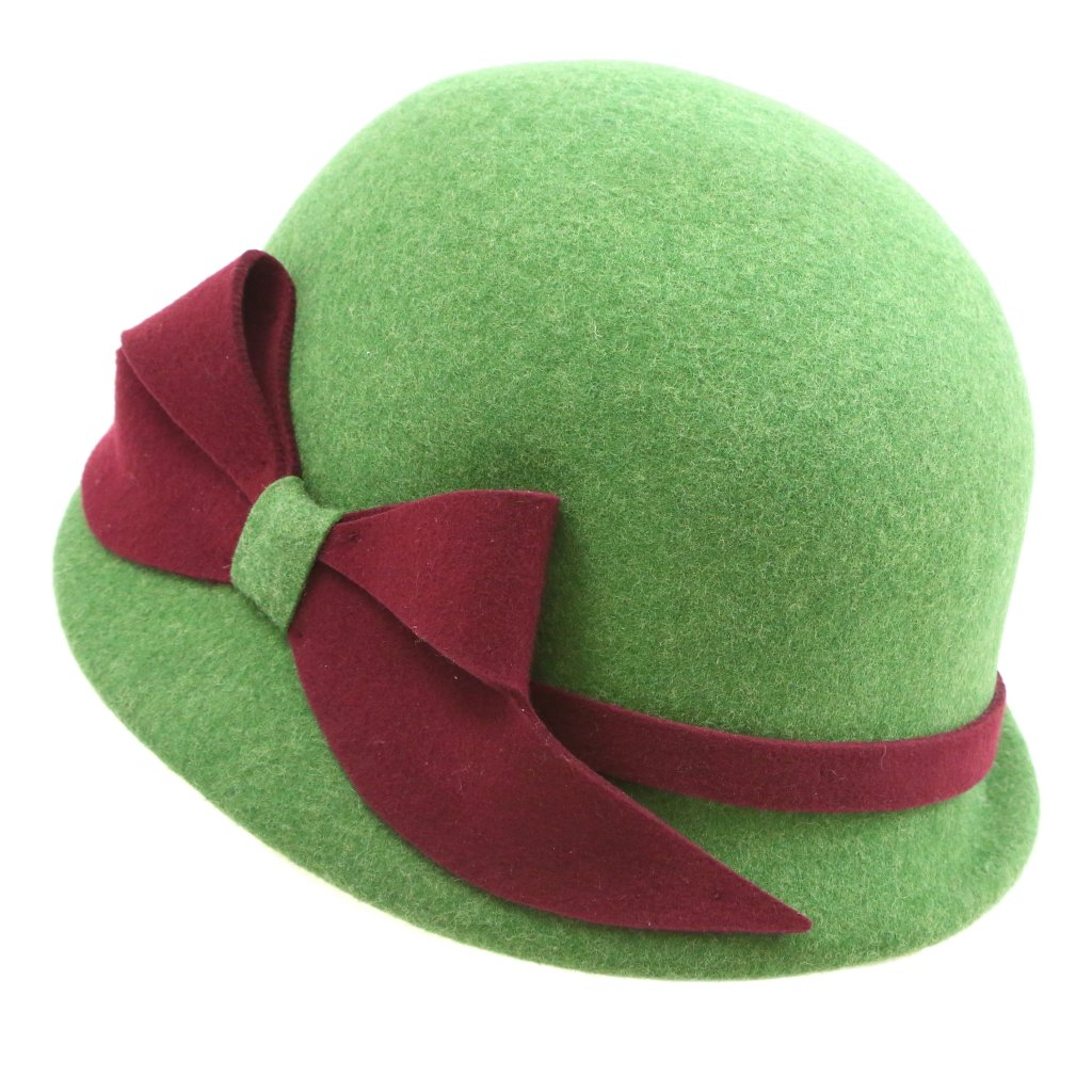 Dámský klobouk s velkou mašlí