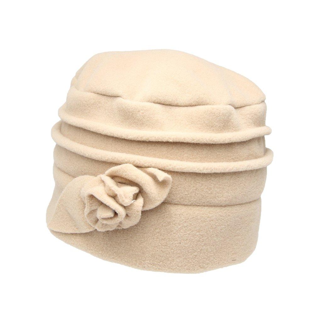 Dámská krémová čepice