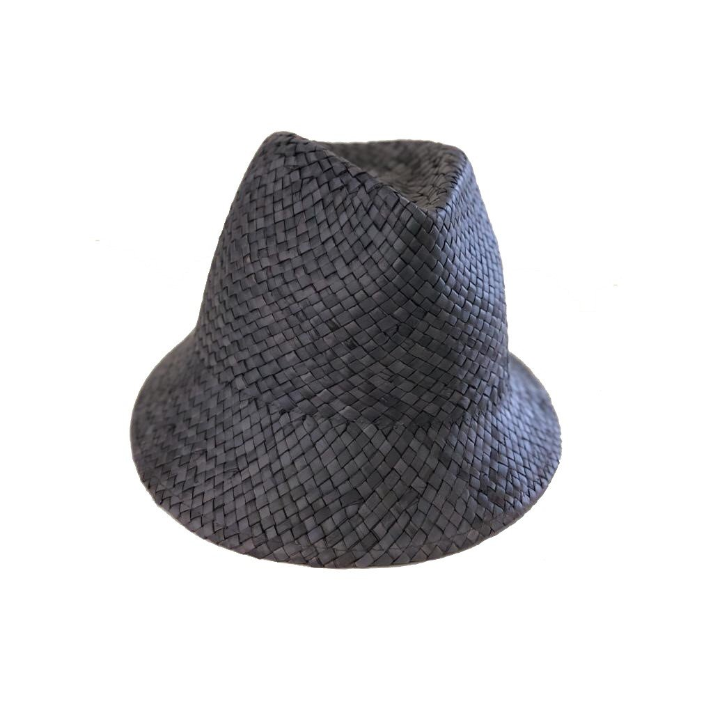 Dámský letní modrý klobouk