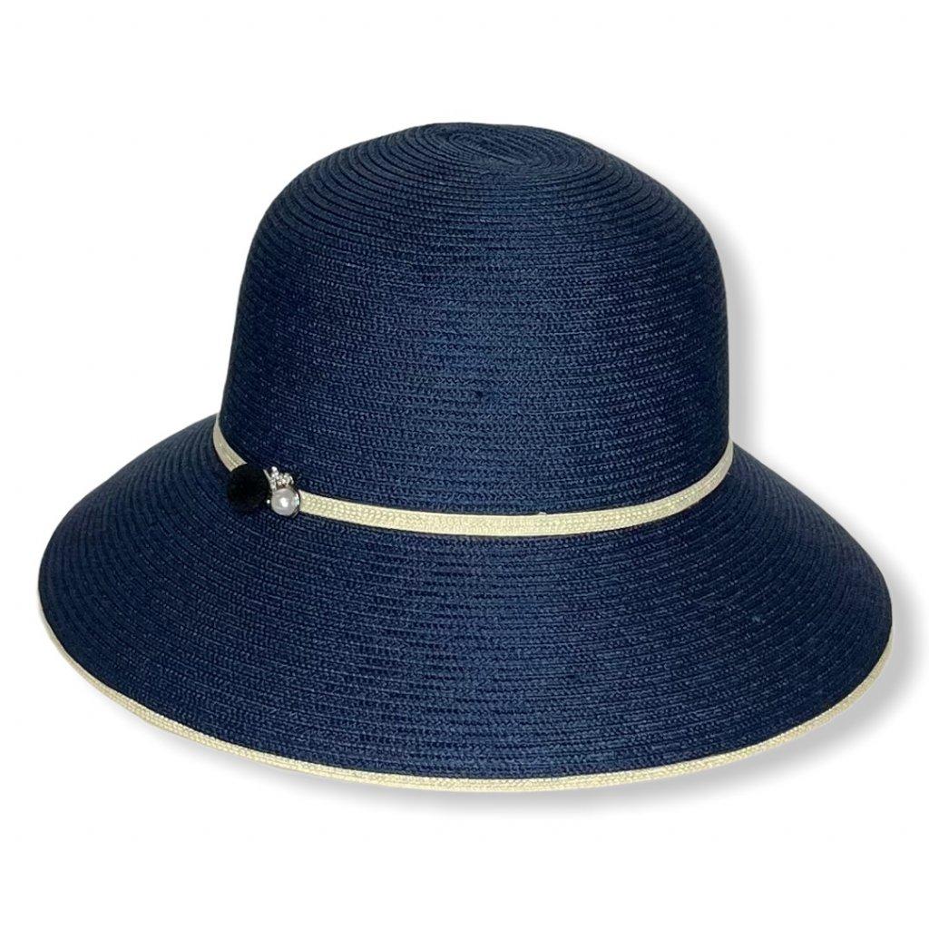 Dámský letní klobouk s perlou