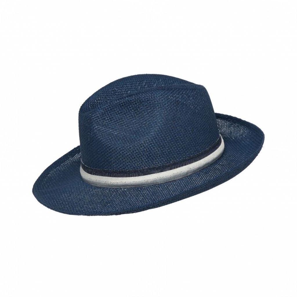 Pánský letní modrý klobouk