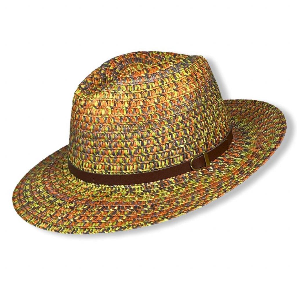 Unisexový letní Fedora klobouk