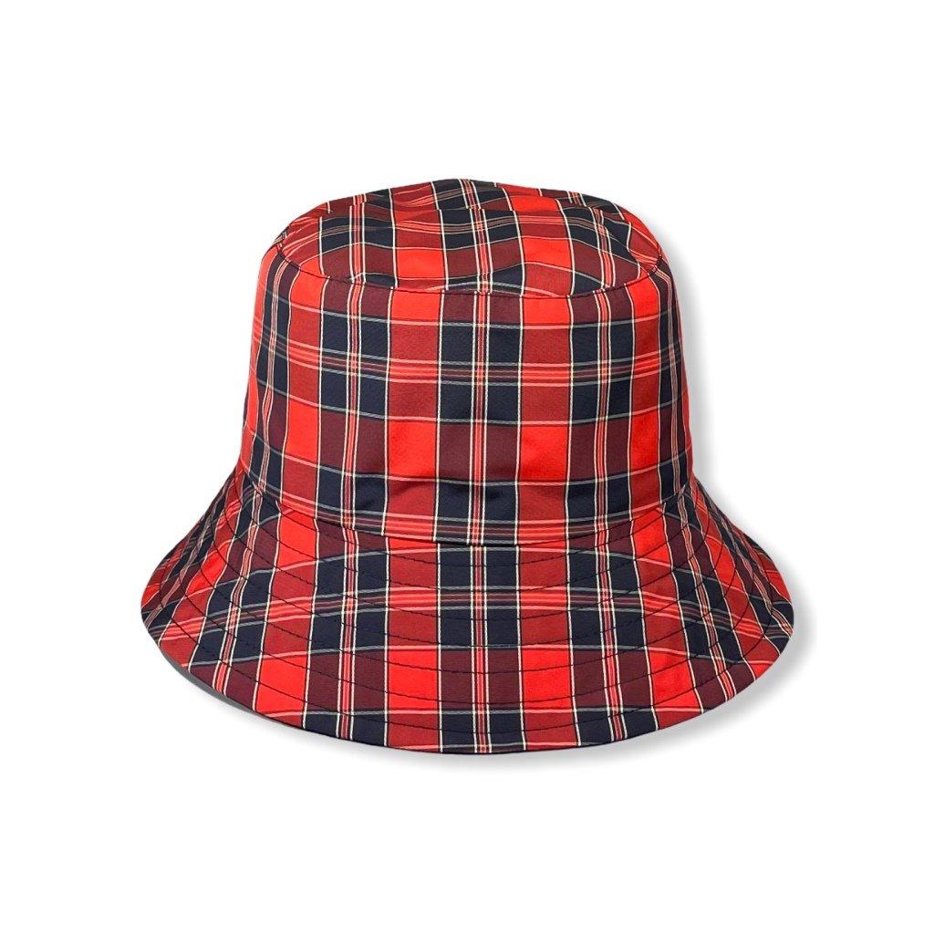Dámský nepromokavý klobouk červený