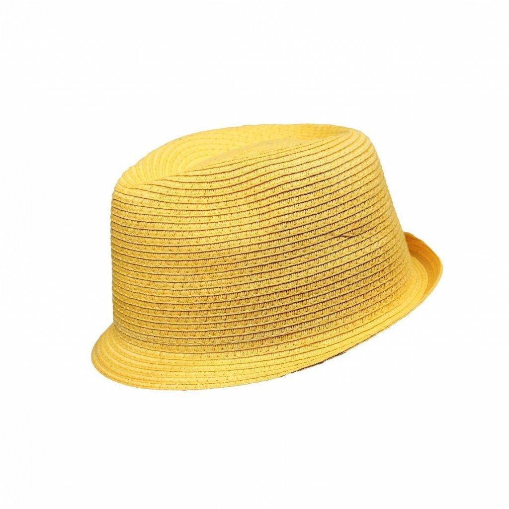 Pánský letní žlutý klobouk