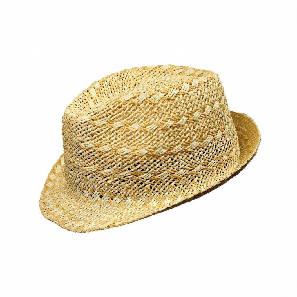Pánský letní béžový klobouk