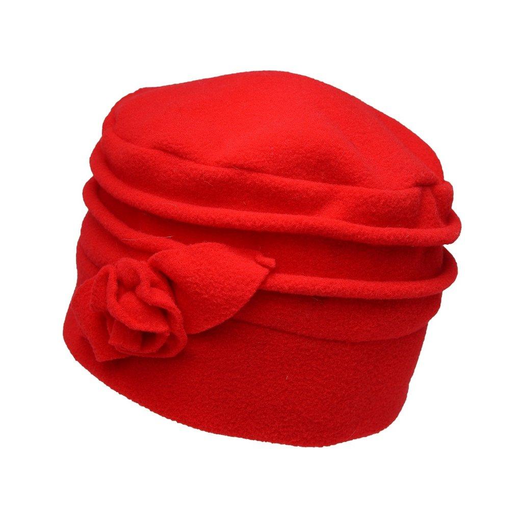 Dámská červená čepice