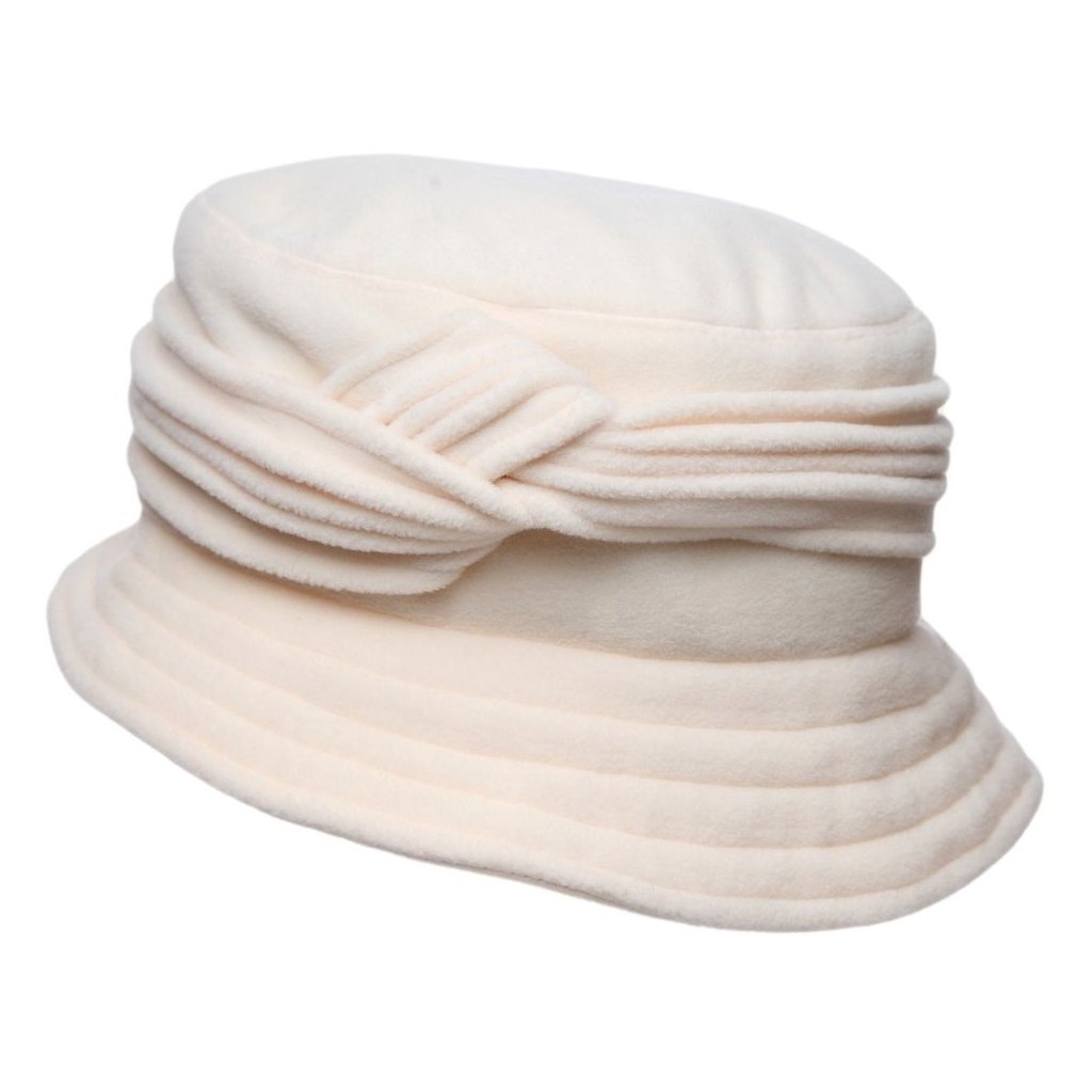 Dámský krémový klobouk