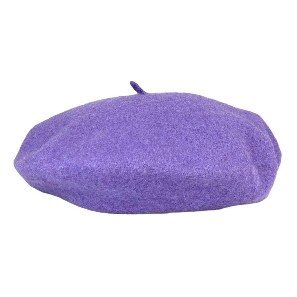 Dámský světle fialový baret