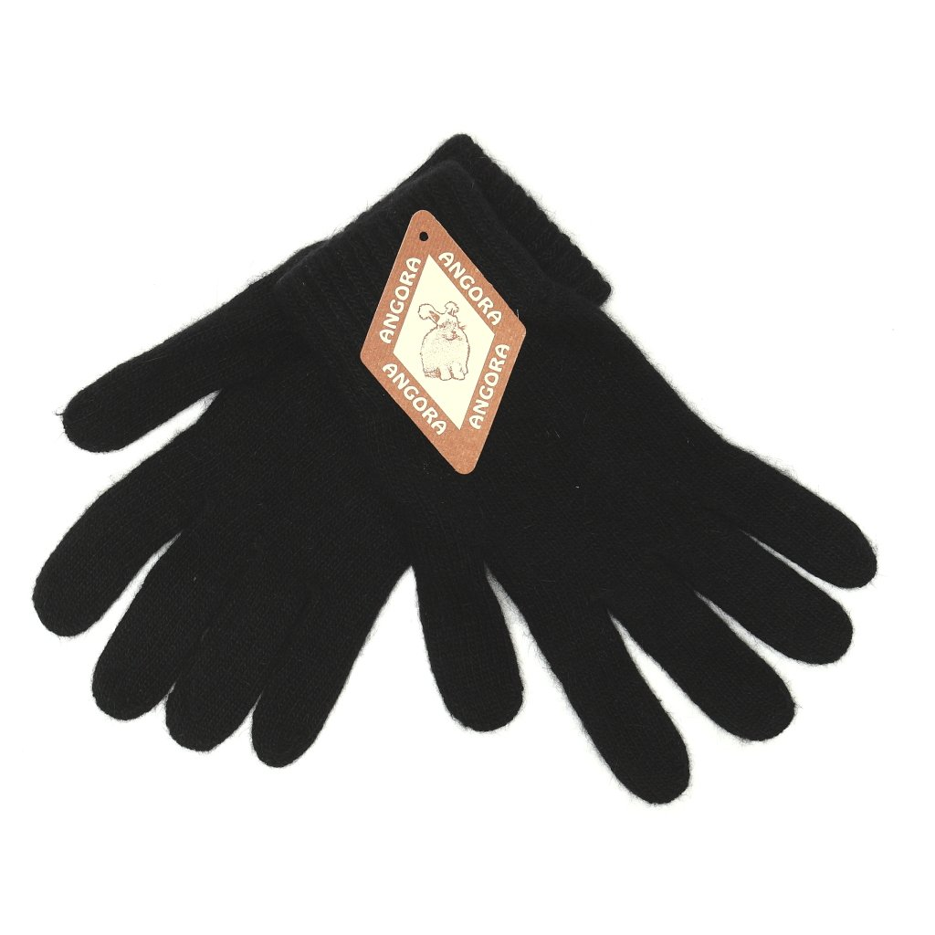 Dámské černé rukavice