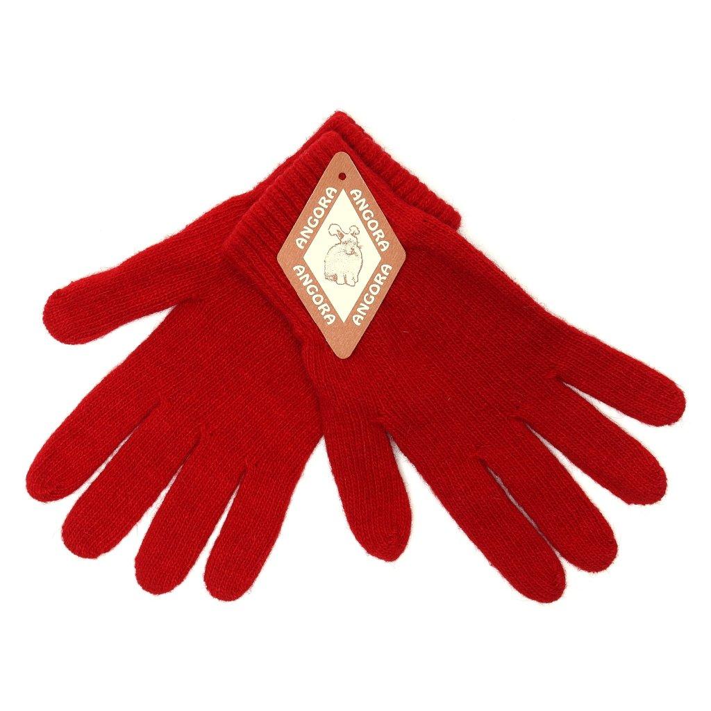 Dámské červené rukavice