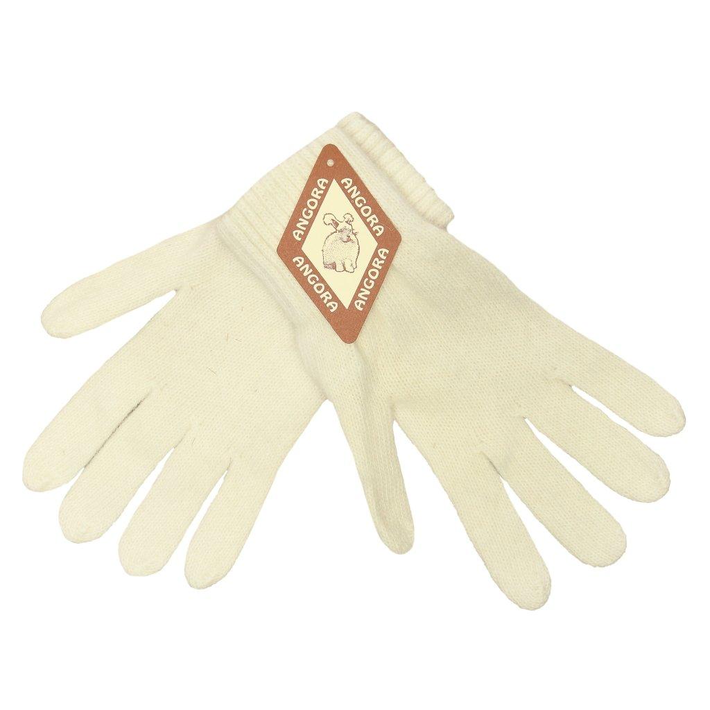 Dámské krémové rukavice