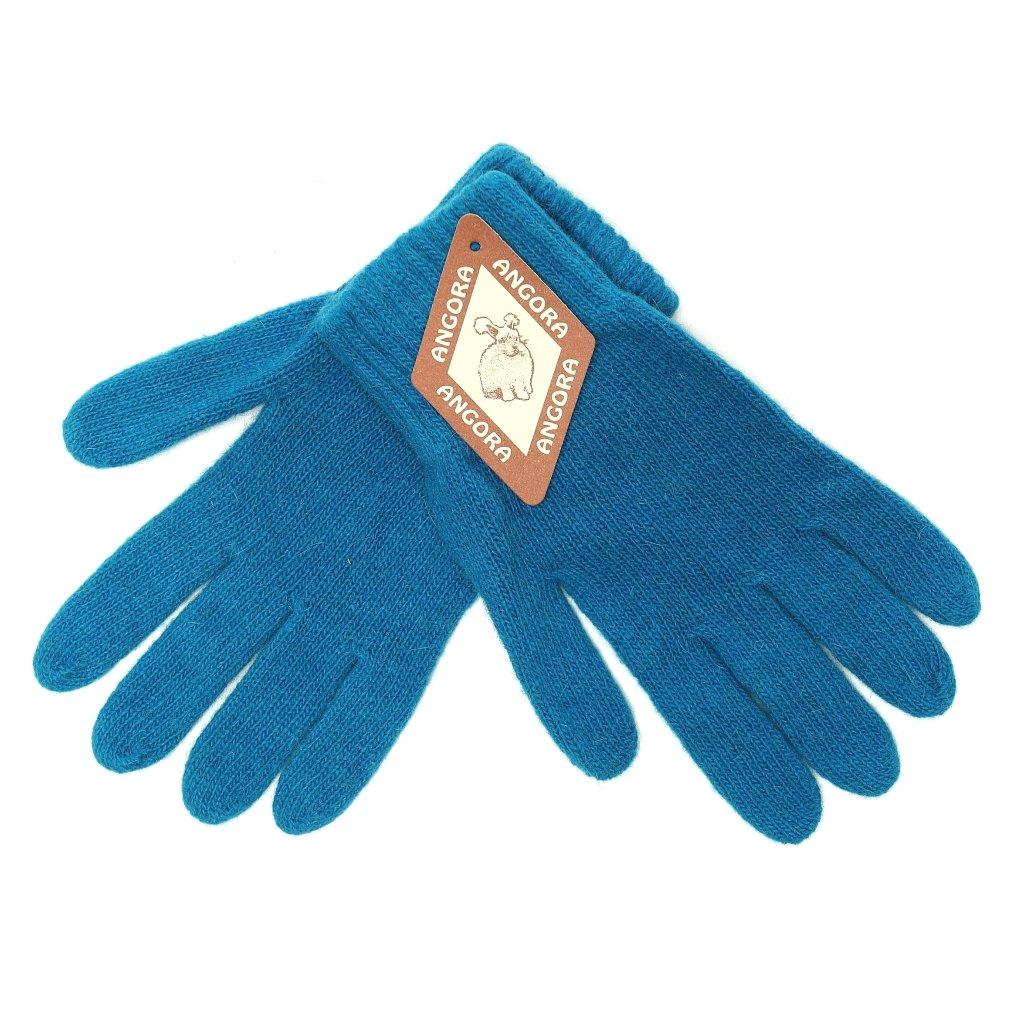 Dámské petrolejové rukavice