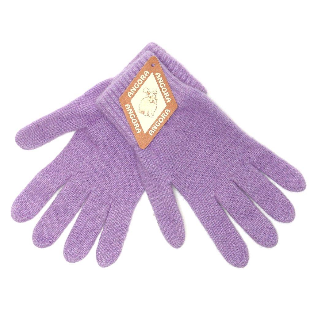 Dámské světle fialové rukavice