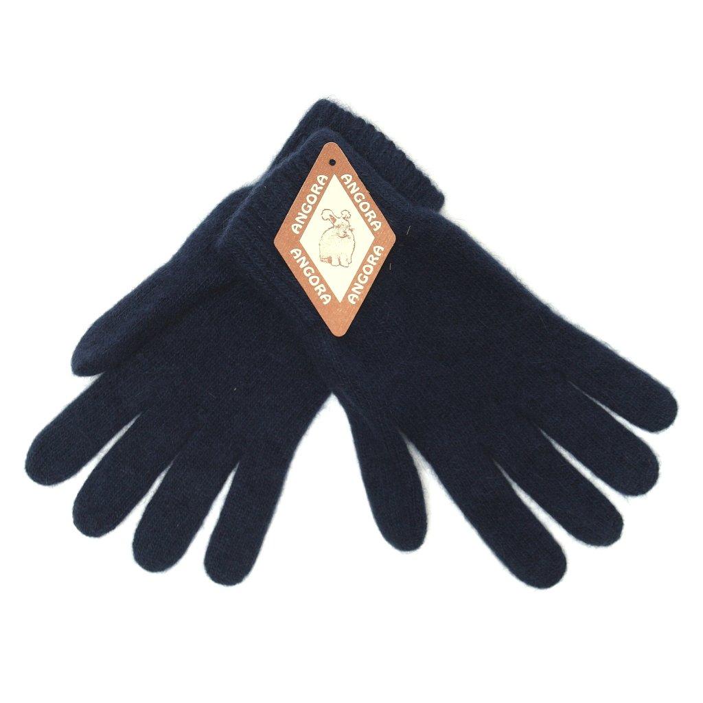 Dámské tmavě modré rukavice