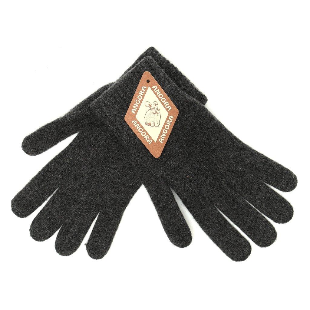 Dámské šedé rukavice