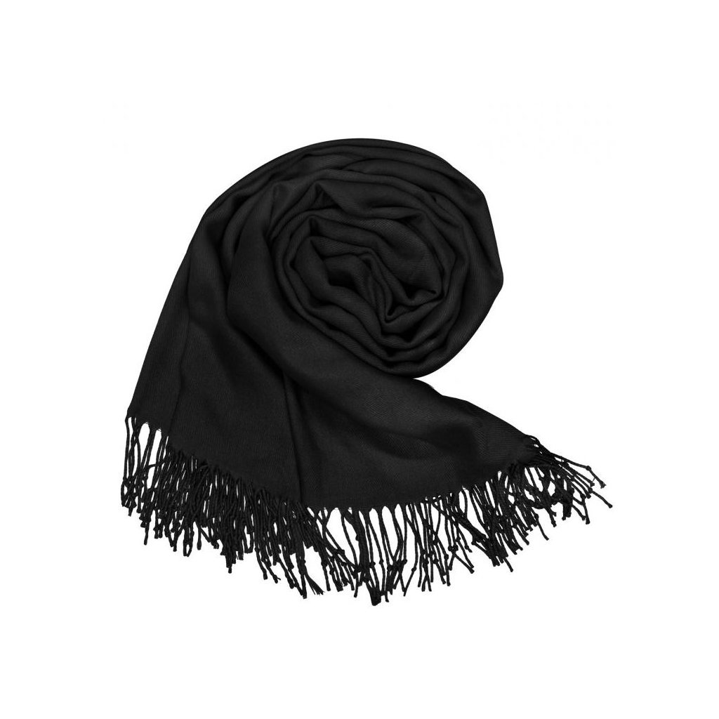 Dámská černá šála