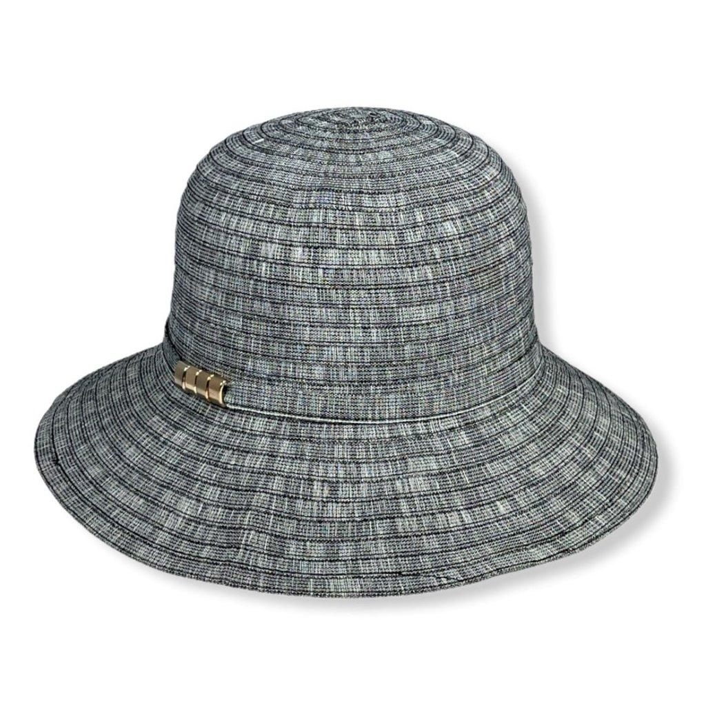 Dámský letní melírovaný klobouk
