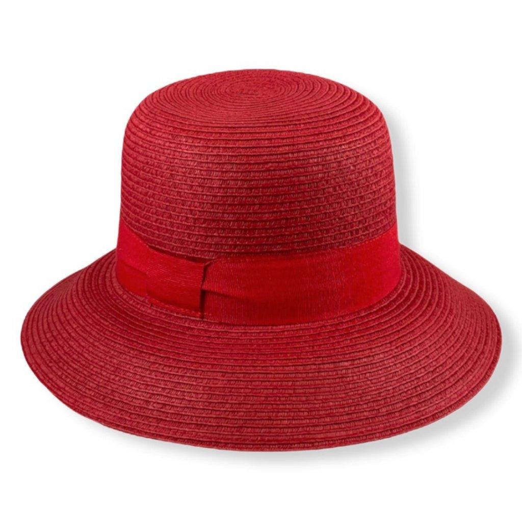 Dámský letní kulatý klobouk