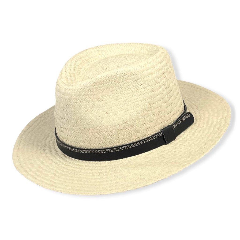 Unisexový letní klobouk Fedora