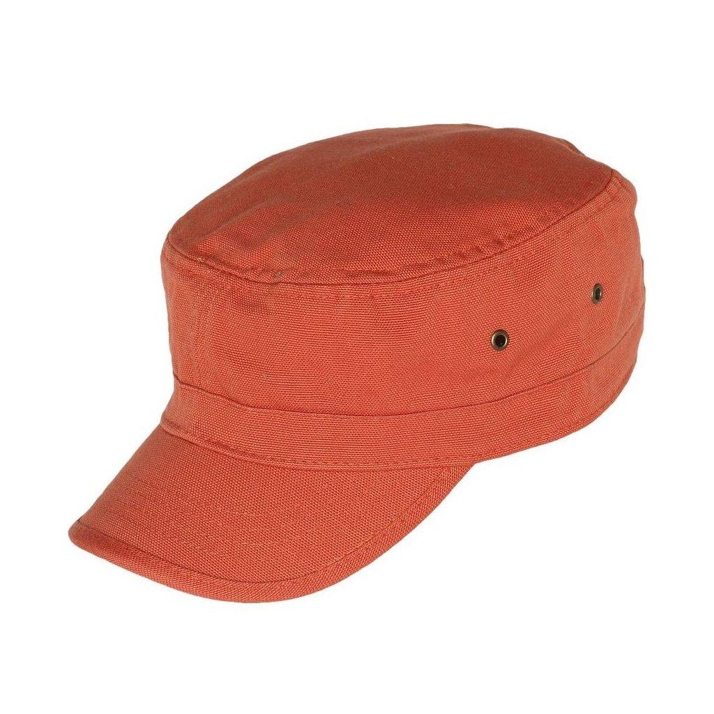 Unisexová jarní oranžová kšiltovka