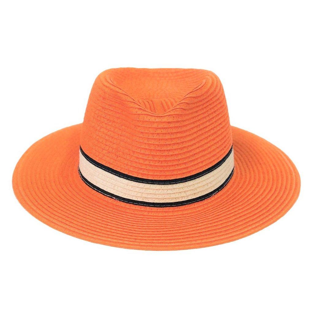 Dámský letní fedora klobouk