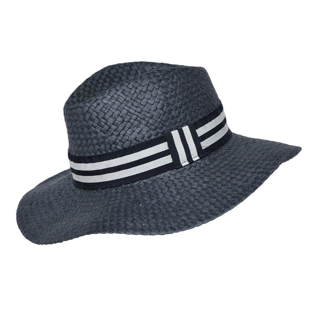 Dámský letní tmavě modrý klobouk