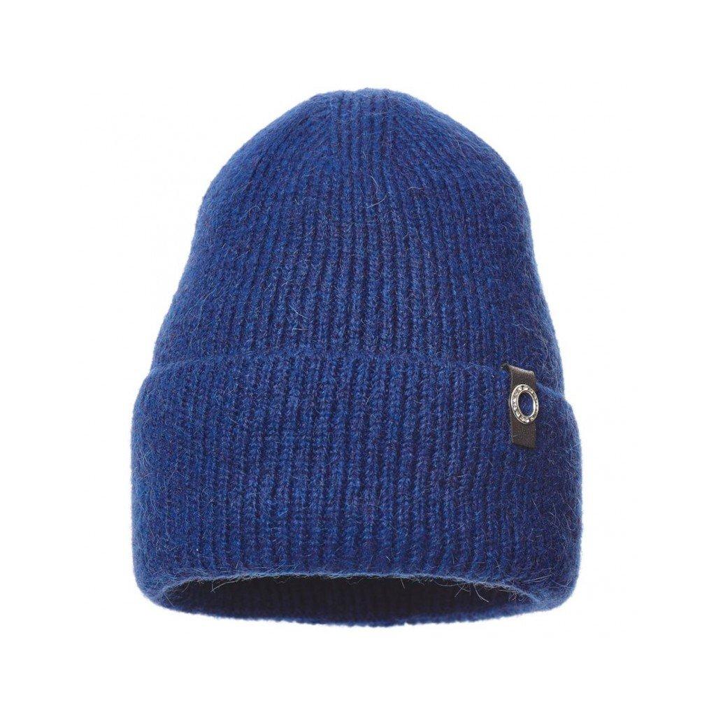 Dámská čepice královská modrá