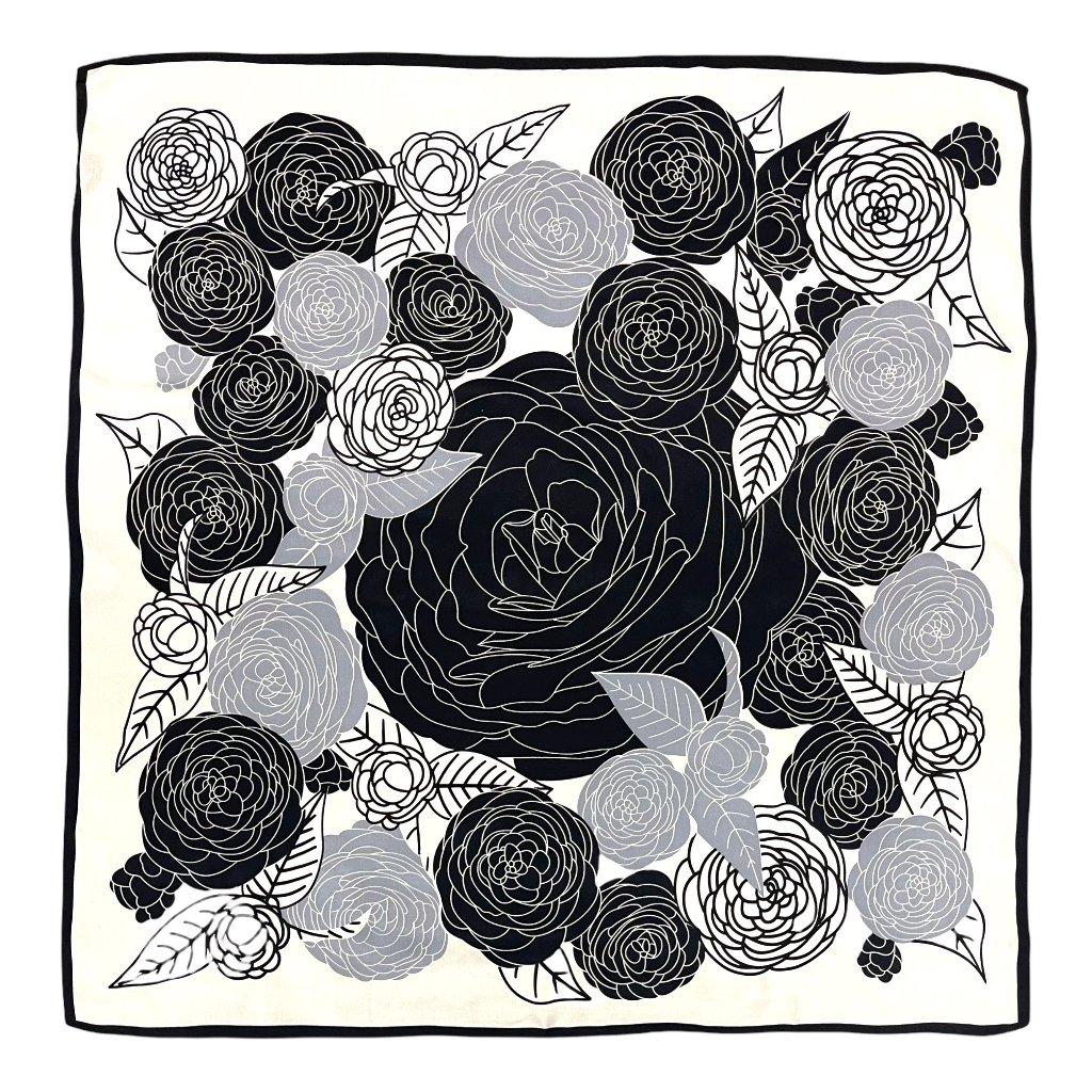 HEDVÁBNÝ ŠÁTEK - Růže