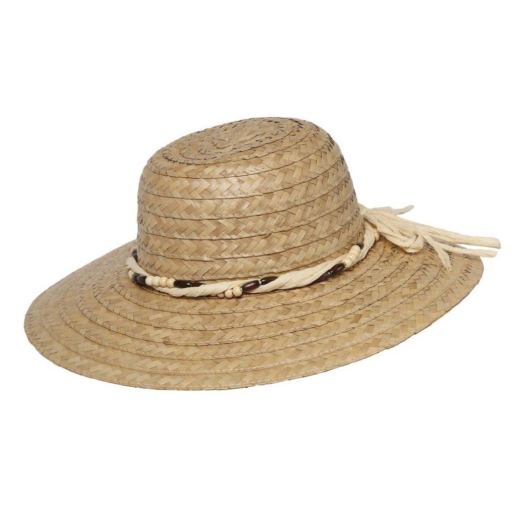 """Dámský letní přírodní klobouk """"Brim hat"""""""