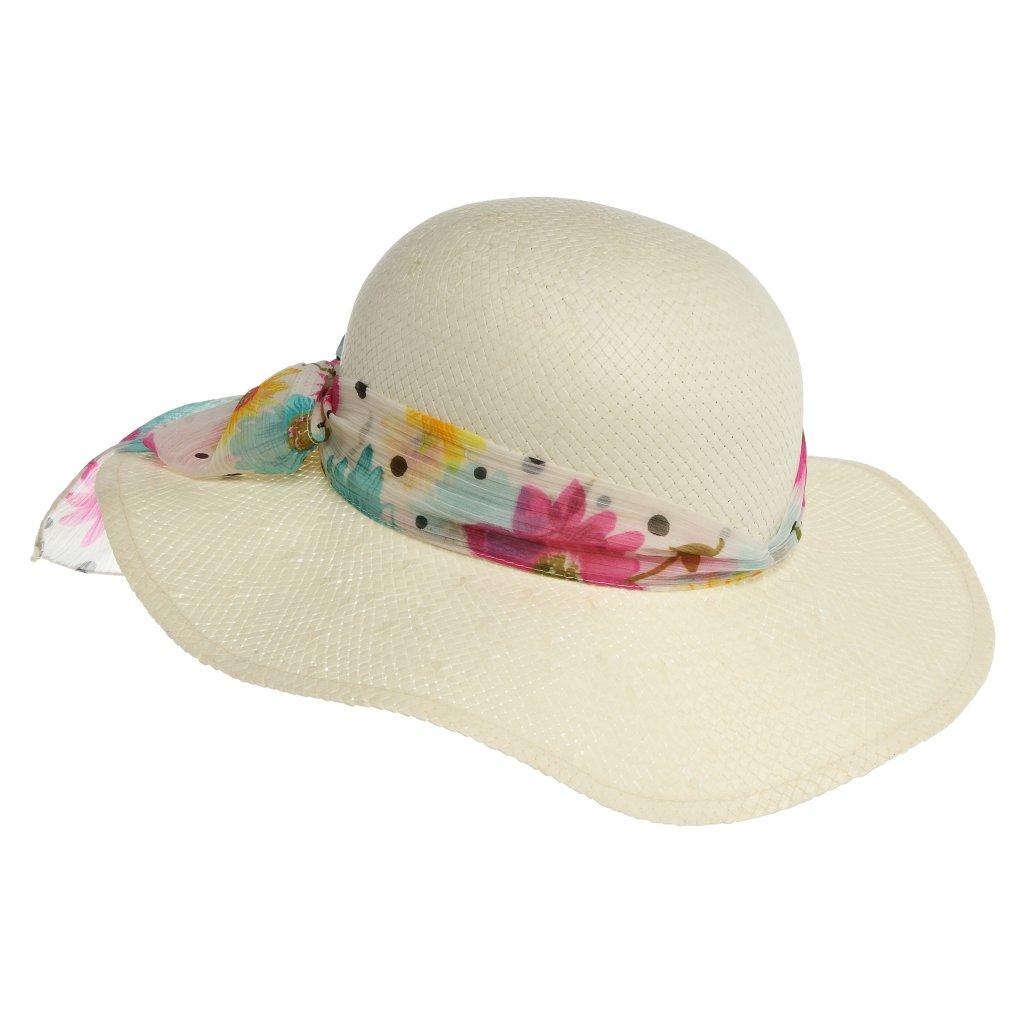 Dámský letní přírodní klobouk