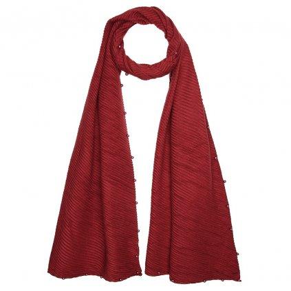 Dámská plisovaná šála