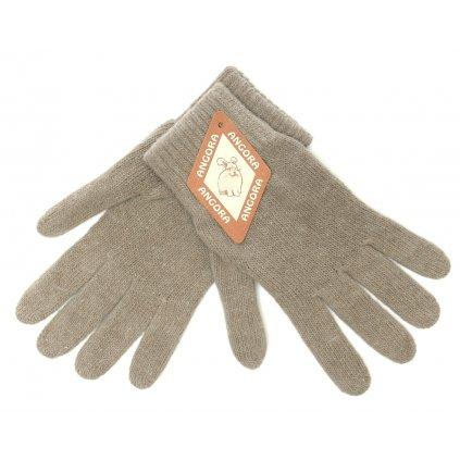 Dámské béžové rukavice