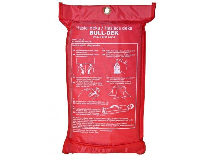 hasící deka bull dek