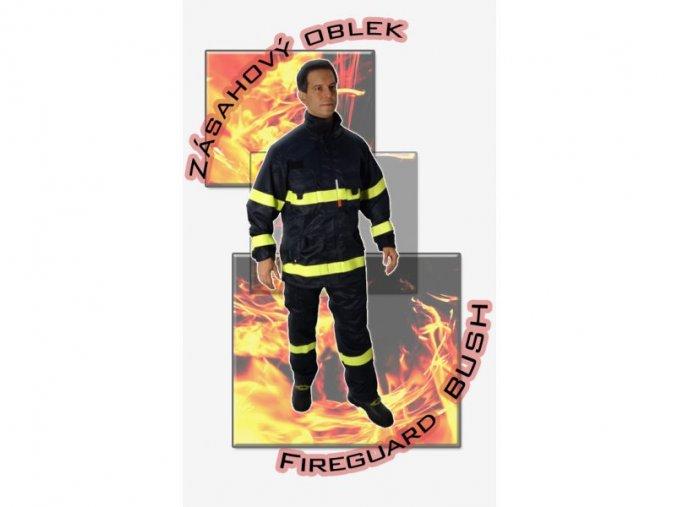 Zásahový oblek FIREGUARD BUSH komplet s nápisem HASIČI + DÁREK