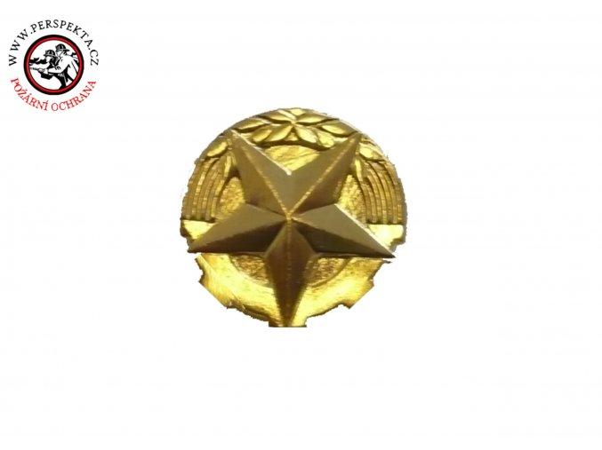 Rozeta zlatá 14mm