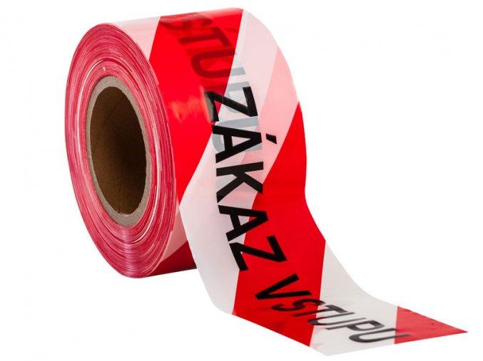 páska vytyčovací 200 m zákaz vstupu