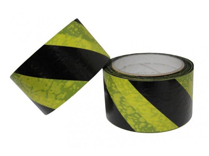 páska samolepící žluto černá