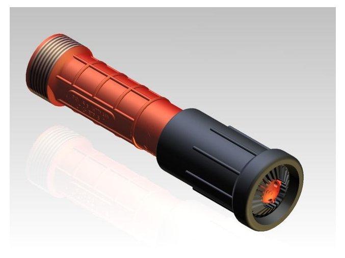 proudnice kombinovaná D25 bez spojky 10 mm