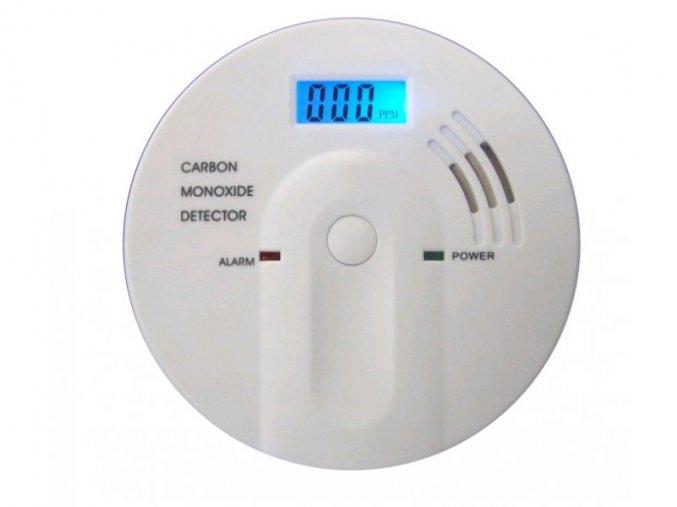 Detektor CO LDC display