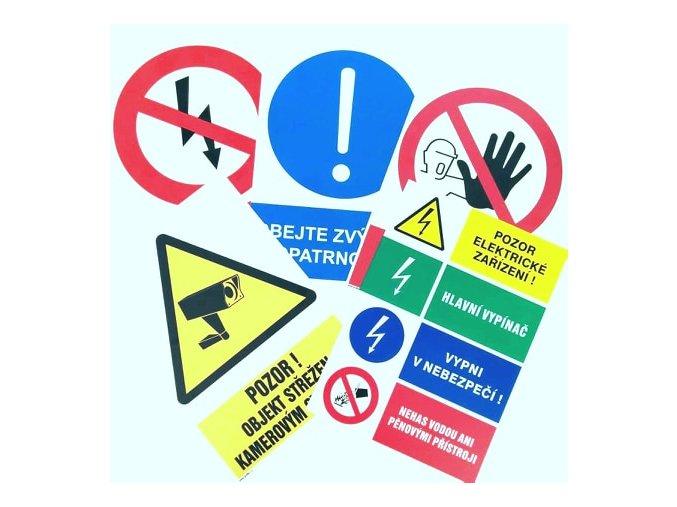 Tabulka A4 požární poplachové směrnice