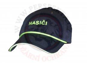 Čepice kšilt s nápisem HASIČI a reflexní šňurkou