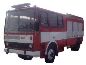 Cisternová automobilová stříkačka LIAZ K101 ořez