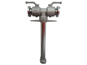 hydrantový nástavec k kulovým uzávěrem