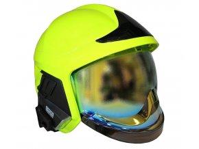 prilba gallet f1 xf fluorescencni zlaty stit 20367 2