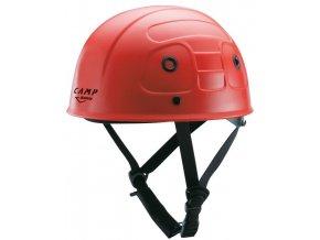 přilba camp safety červená