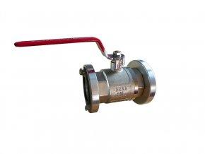 ventil kulový B75 přímý