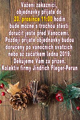 Doručení zboží před Vánocemi